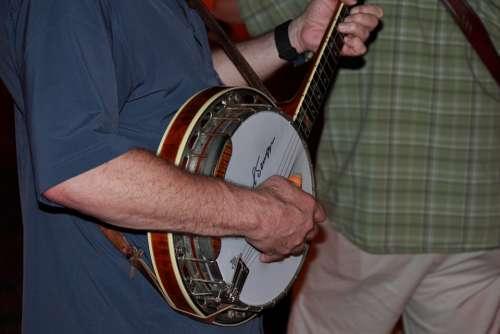Banjo Music Musician Guitar Folk Bluegrass
