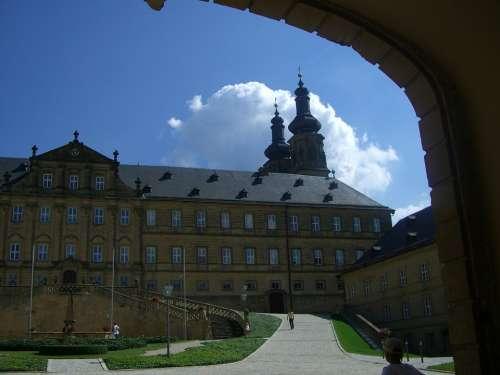 Banz Abbey Mainfranken Former Benedictine Monastery
