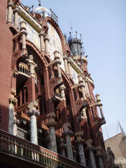 Barcelona Architecture Houses Spain