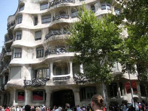 Barcelona Gaudí Architecture Spain La Padrera