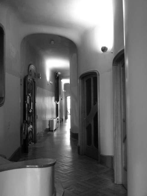Barcelona Battlo House Catalonia Spain Hallway