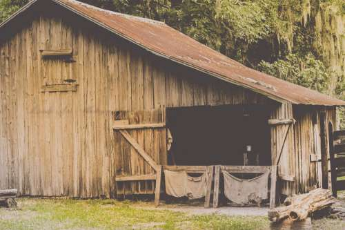Barn Farm Agriculture Rural Country Vintage