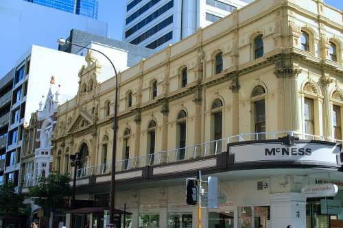 Barrack Street Perth Architecture Australia