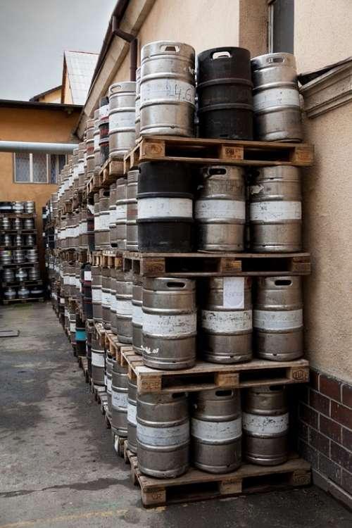 Barrel Barrels Metal Alcohol Container Steel Beer