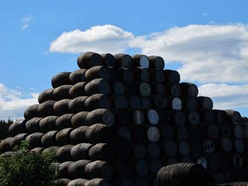 Barrels Beverages Storage