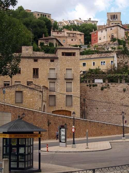 Basin Spain Panoramic Buildings City