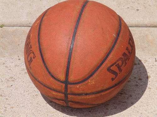 Basketball Sports Ball Close-Up