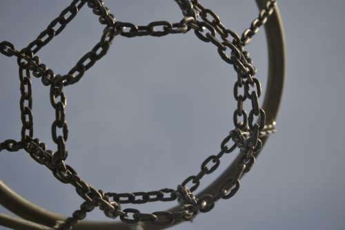 Basketball Hoop Basketball Sport Chain Play