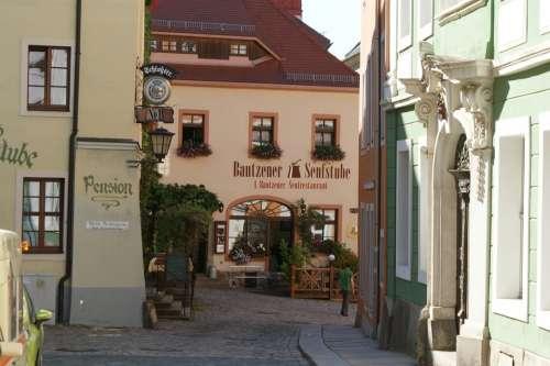Bautzen Germany City Buildings Building