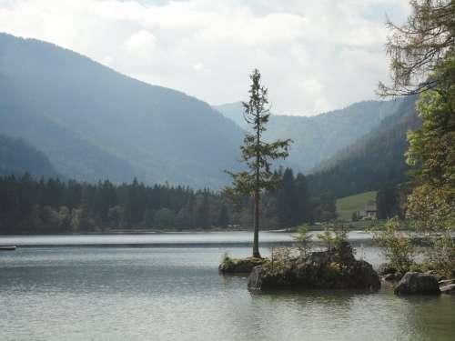 Bavarian Forest Bavaria Arbersee Bergsee Romance