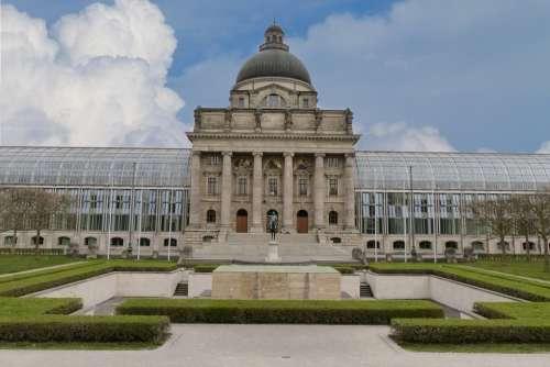 Bavarian State Cancellery Court Bavaria Munich