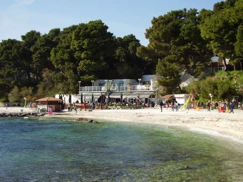 Bay Beach Ocean Sea Summer Holidays