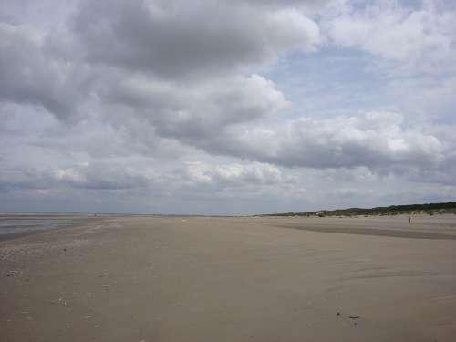 Beach Clouds Nature