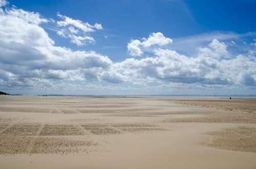 Beach Tourist Sand Sea Sky Cloudy Holiday Sun