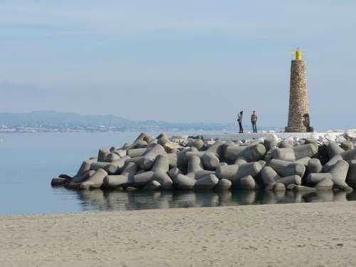 Beach Marbella Costa Blue Water Sea