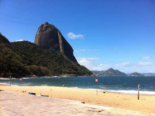 Beach Complexo Do Pão De Açúcar Rio De Janeiro
