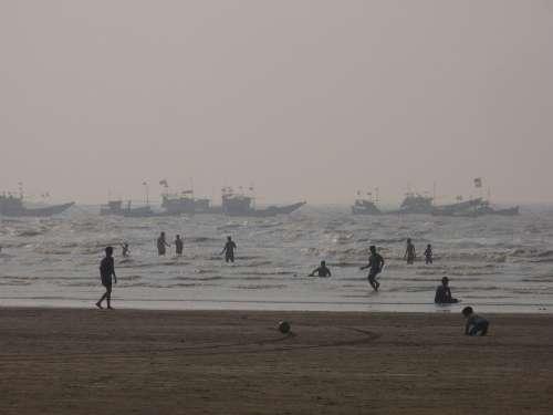Beach Sea Coastline Ocean Sand Wave Water Travel
