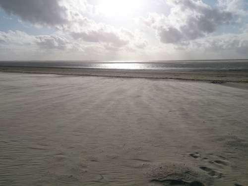 Beach Sand Wind Sea