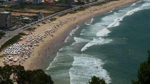 Beach Brazil Brava Beach Itajaí Santa Catarina
