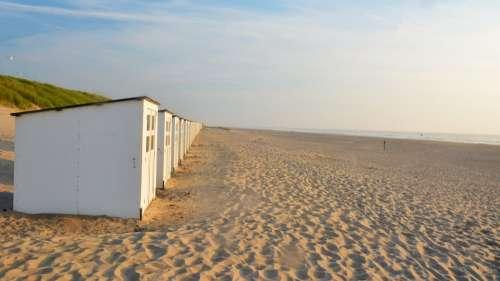 Beach Beach Hut Sand