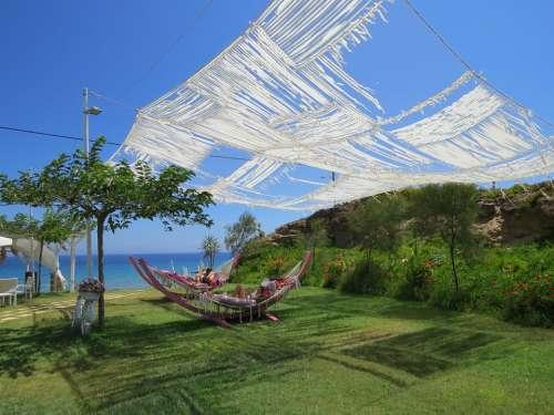 Beach Rest Landscape Exposure To The Sun