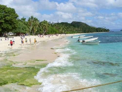 Beach Ocean Paradise Sea Tropical Travel Vacation