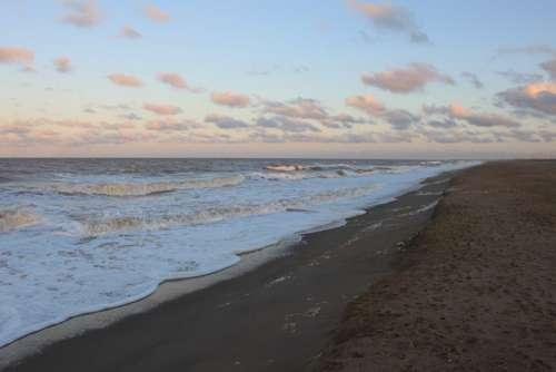 Beach Sea Ocean Water Cloud Seascape Coastline