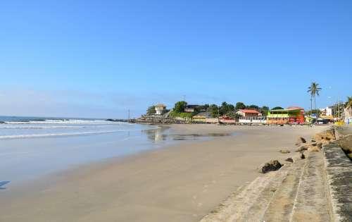 Beach Matinhos Paraná Brazil