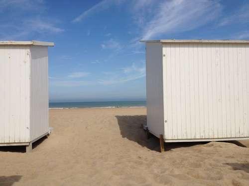 Beach Cabins Holiday Sea