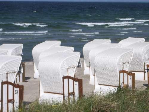 Beach Chair Sea Chair Rest North Sea Vacations