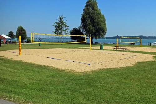 Beach Volley Volleyball Playing Field
