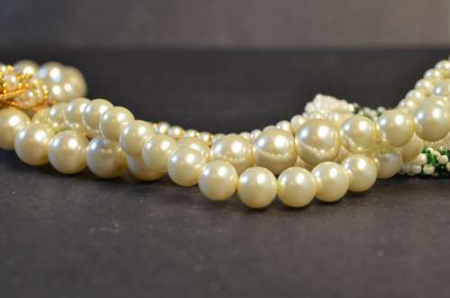 Beads Pearls Valuables Accessory Bijouterie