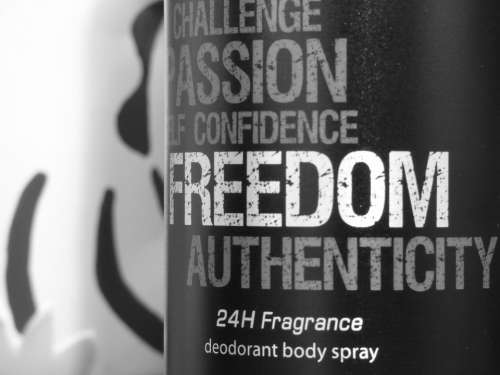 Beauty Product Freedom The Smell Of Deodorant