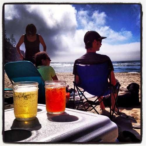 Beer Relaxing Beach Homebrew Summer Resting