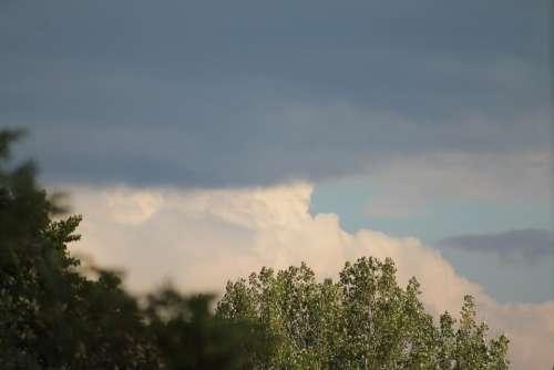 Before The Storm Cloud Landscape