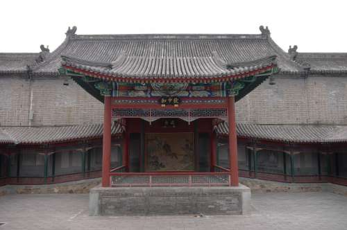 Beijing The White Cloud Temple Taoist Temple