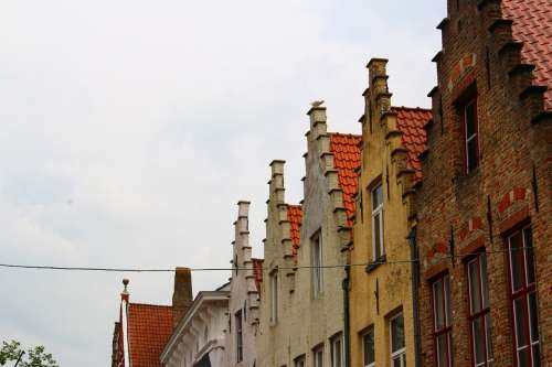 Belgium Bruges Middle Ages Romantic Historically
