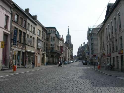 Belgium Ghent Street City Travel Vacation