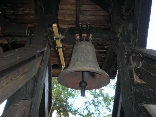Bell Church Metal Old Island Of Usedom