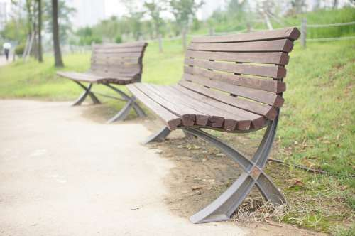 Bench Chair Park