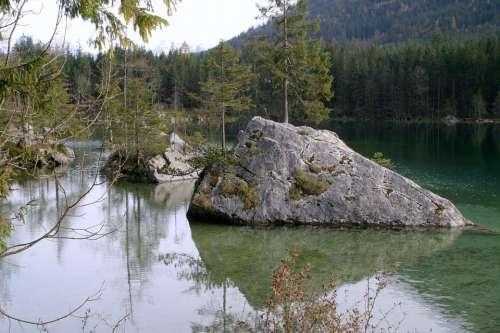 Berchtesgaden Ramsau Hintersee Bavaria
