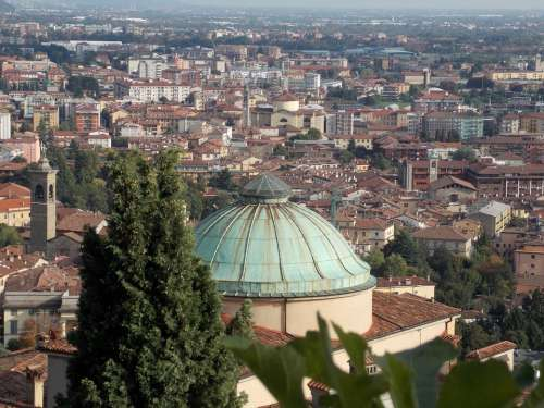Bergamo City Italy