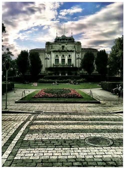 Bergen Norway Parliament Building Architecture