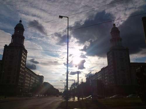 Berlin Frankfurter Tor Friedrichshain Ex Gdr