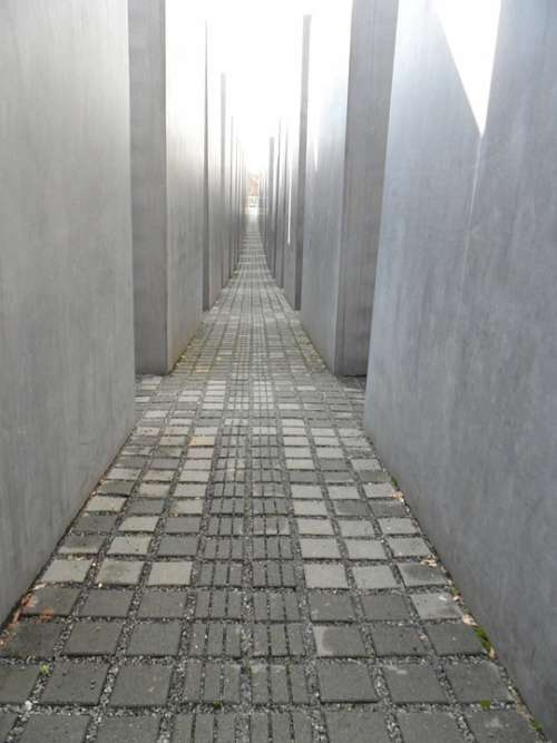 Berlin Monument Memorial Holocaust Stelae