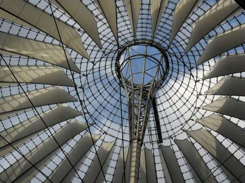 Berlin Sony Center Roof