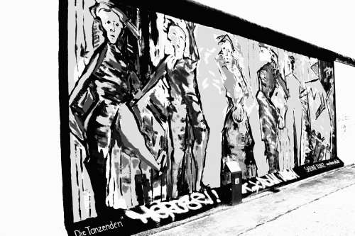 Berlin Wall Art Germany Graffiti Communism War