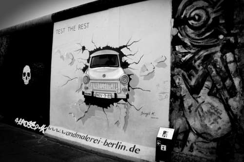 Berlin Wall Art Germany Graffiti Communism War