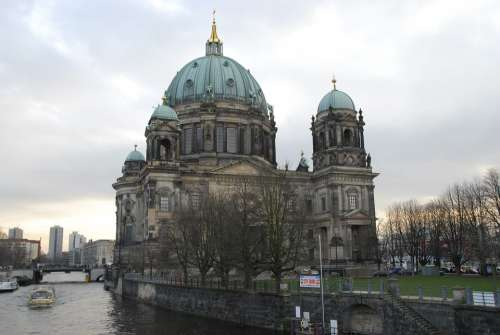 Berlin Museum Monument Art Architecture Cathedral