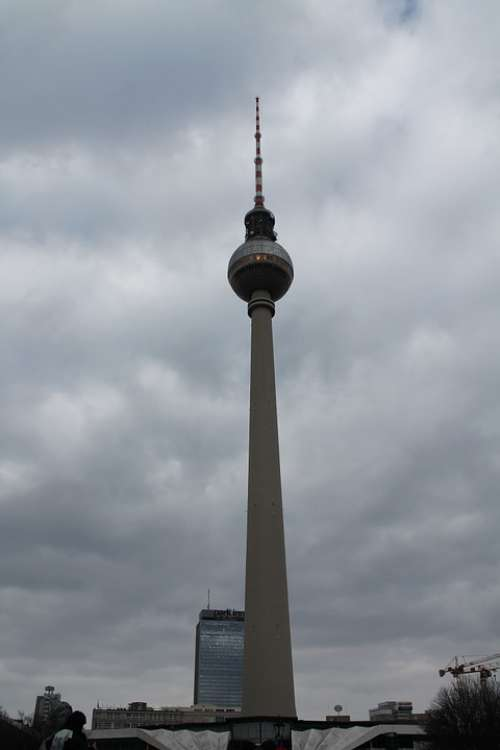 Berlin Landmark Tv Tower Places Of Interest